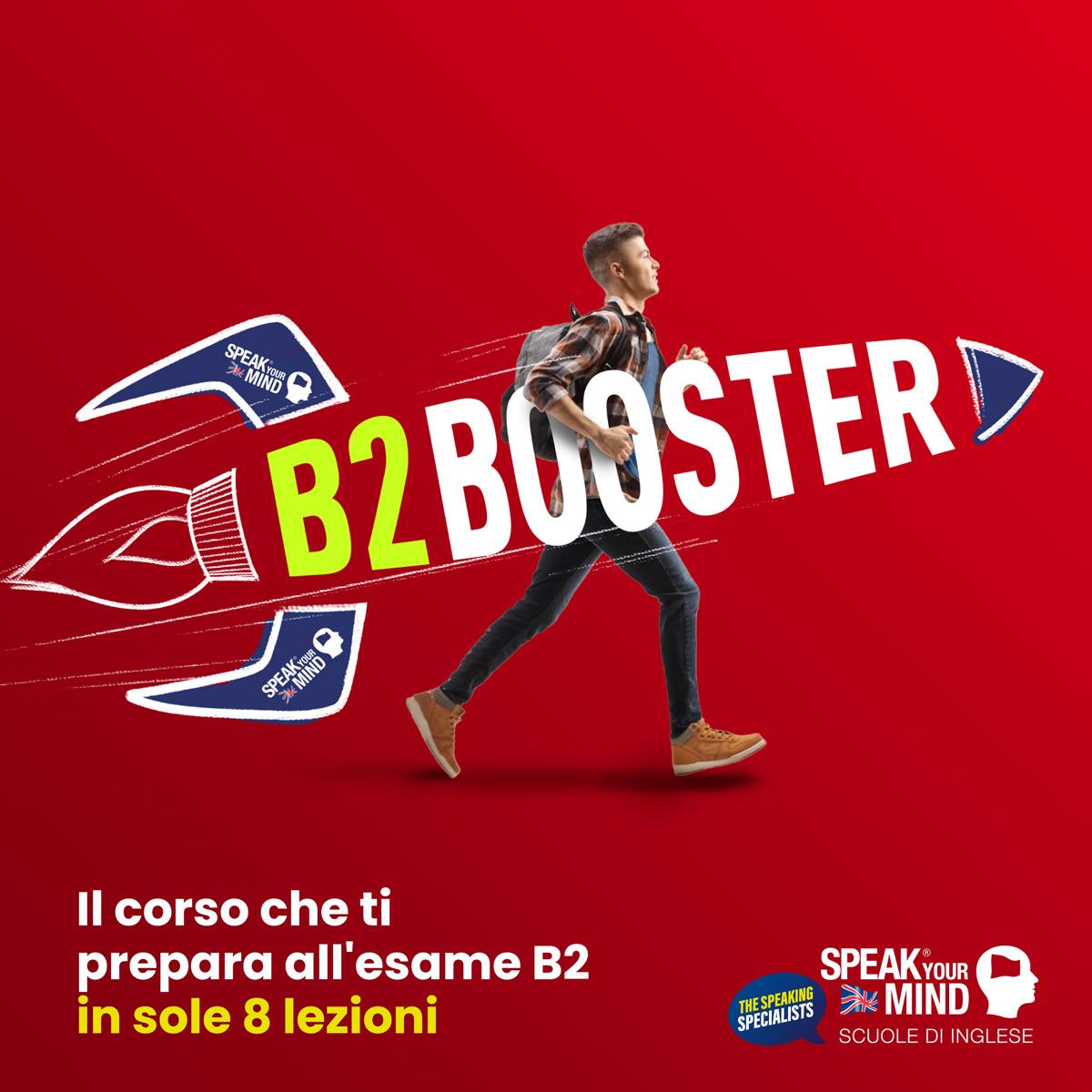 B2 Booster Speak Your Mind